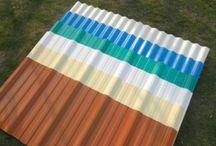atap pvc / 3 Layer Heat Insulation atap pvc / UPVC Roof Sheet adalah jawaban bagi kebutuhan atap yang dapat menahan panas dan meredam suara yang baik. Cocok untuk aplikasi pada area / lahan yang memerlukan perlindungan terhadap panas sinar matahari dan mudah aplikasinya. Dapat menghilangkan kebutuhan akan lapisan peredam panas sehingga bangunan dapat lebih ekonomis dan terbebas dari gangguan-gangguan akibat pemasangan lapisan peredam anti panas.
