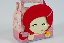 Festa Princesa Ariel / Aqui você vai encontrar vários produtos no tema da Princesa Ariel e de A Pequena Sereia. =)