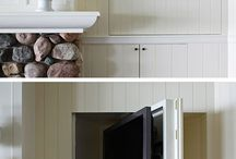 TV cabinets / by Carlyn Lowery