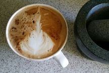 King George's Coffee / Practicing coffee brewing and latte art with my own coffee machine.