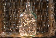DIY Home Lighting / DIY light fixtures and lamps