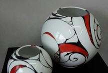 peinture sur porcelaine moderne