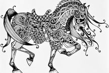 Zentangle to draw