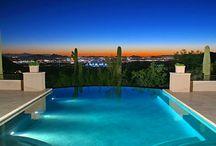 Arizona Backyard Spaces & Pools / Pools and Resort Style Backyards in Arizona