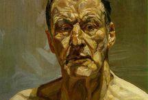 Lucien Freud / pittura