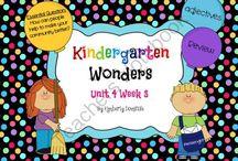 CR: Wonders Kindergarten Curriculum