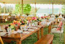 Receptions + Tablescapes