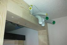 Salon - instalacja pod projektor