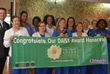 DAISY Award Winners / DAISY is an acronym for Diseases Attacking the Immune SYstem. The DAISY Award was established by the DAISY Foundation in memory of J. Patrick Barnes who died at 33 of ITP, an auto-immune disease. The Barnes Family was awestruck by the clinical skills, caring and compassion of the nurses who cared for Patrick, so they created this national award to say thank you to nurses everywhere.