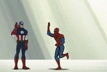 Avengers / by Amanda Hughes