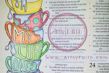Bible Art Journaling - Ideas