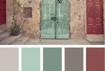 Vier Wände - Farben