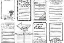 Journal Printables