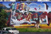 Inspiracje Mural / Jest takie miejsce w #Szczecin -ie, które chcieli byśmy zmienić. Szare, choć uczęszczane. Tu znajdą się prace, które nas inspirują do tej zmiany ^^