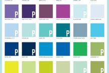 Kleuren palette