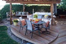 Deck & fence