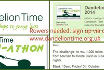 Indoor Rowathon / Our biggest event: take part in Kent's biggest and craziest indoor rowing event! 1,000 miles, non-stop, for 3 days and 2 nights On 2 rowing machines at NMA Physical Training Marden TN12 9AP