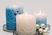 DYI candles.