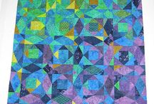 Stormy Seas / The movement in Storm-at-Sea Quilts makes them some of my favourites!
