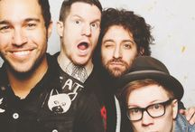 fall out boy. / i'll stop wearing black when they make a darker color.