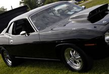 MUSCLE  CAR'S / by Gene Galley
