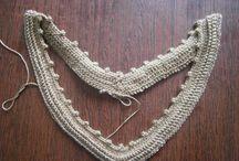decote v crocher