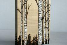 disegni su legno
