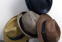 Men's Hats / Functional fedoras, street-style trilbies, thug-life beanies for men.  Caps, panamas, hats for men.