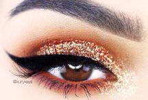 Maquiagem Glitter/Pigmento