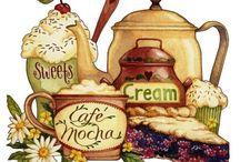 stampe caffé, thé e dolciumi