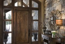 Farmhouse entrance