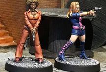 female miniatures