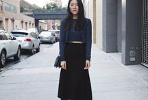 NAVY && BLACK / One of my very favourite colour combinations.  / by Amy