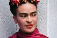 Frida Kalho / Her life, her talent, her boldness and those who have been inspired by her.