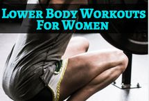 Lower Body Workouts For Women / The best lower body workouts for women, lower body workouts with weights, lower body bodyweight workouts, lower body muscle building workouts, glute building workouts, and leg strengthening workouts.