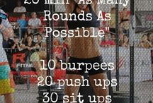 Crossfit Junkie / Crossfit workouts and other un-fun ways to pass the time with fitness / by Adriene Horn