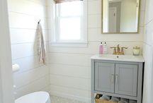 Building a bathroom