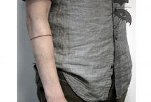 minimal line tattoo.
