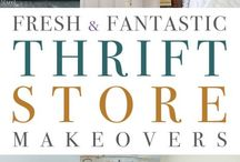 Thrift shop makeover