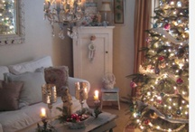 ChriStMaS WiSheS... / decor, shabby, ornaments, vintage, mantels, trees, lights, ideas, stockings, white / by SHaBbY StOrY