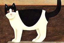 The cats will know / Disegni, illustrazioni, stampe, etc,