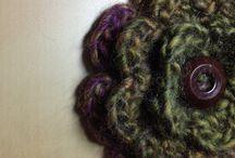 Crochet flowers / by Kristin Baule