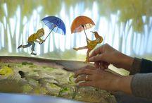 art lessons kijkdoos/diorama