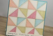 quilted cards