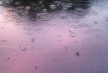 water :: rain