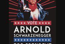 Arnold Schwarzenegger / by Chad Walls