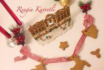 Gingerbread Cookies / Zencefilli Tarçınlı Kurabiye