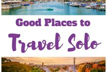 Solo Travel / Tips, advice, and attraction guides for solo travel. Solo Female Travel | Traveling Alone