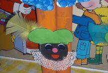 School Sinterklaas