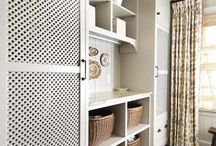 closets/cabnets/storage
